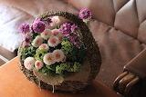 Cesto e fiori 9