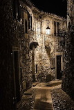 Alley, Eze, Provence, France.