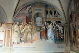 Abbazia MonteOliveto M.re Siena affresco Sodoma 19(male femmine)