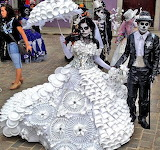 Day Of The Dead Wedding Clothes