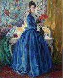 Lady in Blue~ Ulisse Caputo fine art