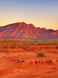 Sunset Flinders Ranges Australia