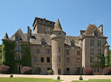 Chateau de Pesteil. France.