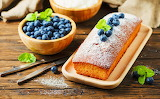 Cake of Blueberries