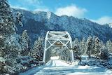 Days of Yesteryear One Lane Bridge Thompson Falls Montana USA