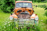 Junk Orange Truck