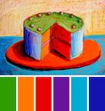 Cake by Wayne Thiebaud