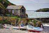 Fishing Boats, Mullion, Cornwall, Kernow