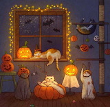 halloween of the cats