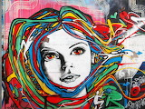 Street art, rue de l'Ourcq, Paris N3