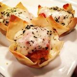 ^ Chicken Parmesan minis