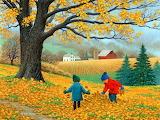 Autumn-painting-John-Sloane