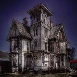 Abandoned 4 story house