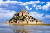Castle Mont St Michel, Normandy, France