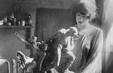 Gertrude Vanderbilt Whitney sculpting, 1920's