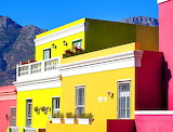 Colorful Houses, South Africa