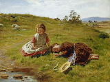 Spring ~ William McTaggart, 1864