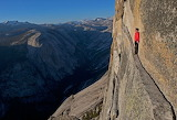 Extreme sport. Rock Climber Alex Honnold