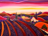 Provence landscape, Brigitte Dehue