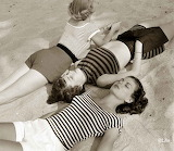 Summer Beach Fashions in 1950