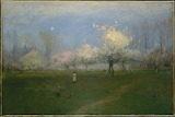 George Inness, Spring Blossoms, ca 1891