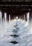 Ice Sea Black Sea Ukraine