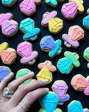 Ring cookies by Holly Fox