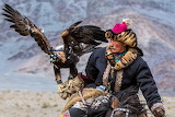 Eagle, man, bird, animal, nature, hat