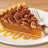 ^ Pecan Butterscotch pie