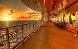 ☺♥ Sunset at sea...