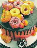 Donut cake @ Flower Power Cakes
