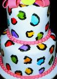 Rotate the neon cake