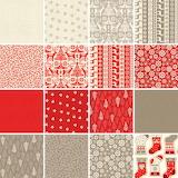 christmas fabric 6