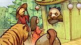 """Billy Nunez, """"Wizard of Oz"""" Oz China Panda Tiger """"Straw man"""""""