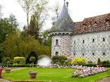 Beautiful castle of France
