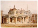 The ancient market place, Salisbury Joseph Mallord William Turne