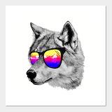 Sunglasses Wolf