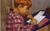 Maurice Denis, Jean-Baptiste écrivant