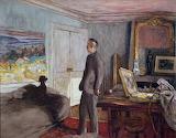 Édouard Vuillard, Portrait de Pierre Bonnard