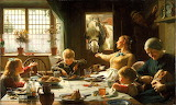 One of the family by Frederick George Cotman (1850 - 1920)