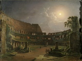 Chernetsov N.G.View of the Colosseum under the moon