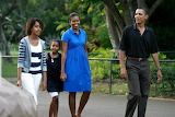 POTW, Obama family, walking