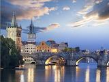 Pragues. et son pont