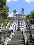 Escalinata y Santuario del buen Jesús