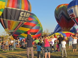 "Hot Air Balloons "" The Take Off"""