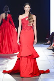 Two Tier Red Gown