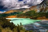 Republic of Altai lake nature