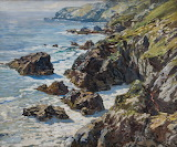 Morning Light - The Coast by Walter Elmer Schofield