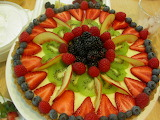 ^ Fresh fruit tart