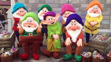 Ornament christmas and 7 dwarfs